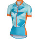 Castelli Climber's Bike Jersey Shortsleeve Women orange/blue